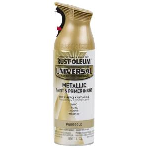 Rustoleum Metallic Pure Gold Paint