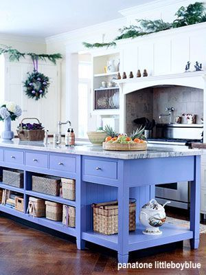 panatone littleboyblue kitchen island