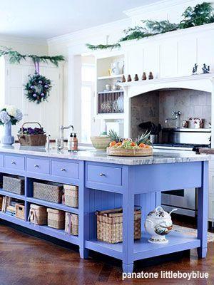 panatone littleboyblue kitchen island