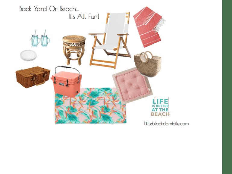 littleblackdomicile Back Yard Or Beach Virtual Interior Design