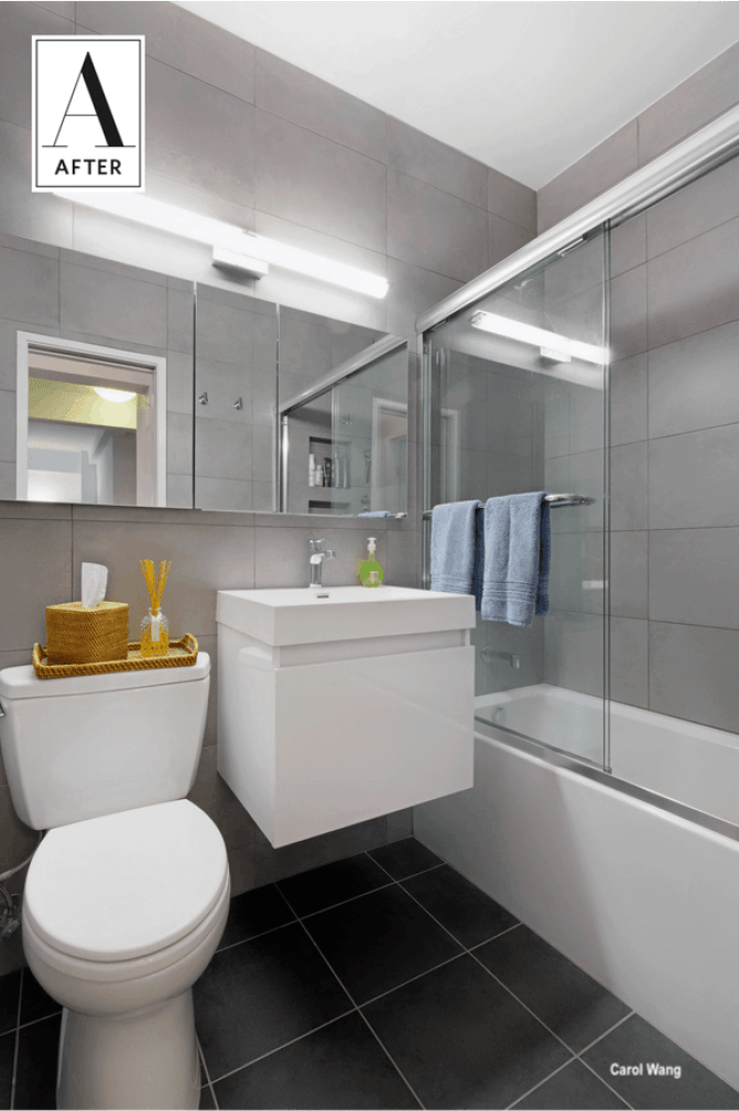 sweeten blog-prospect heights -after bathroom remodel