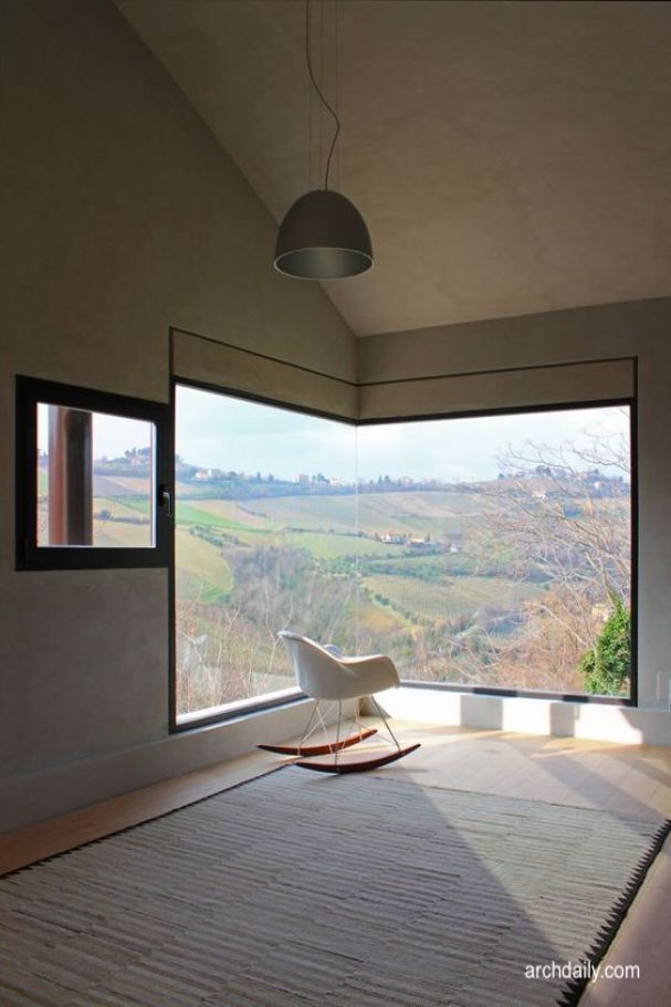 arch daily.com- corner window- rural scene