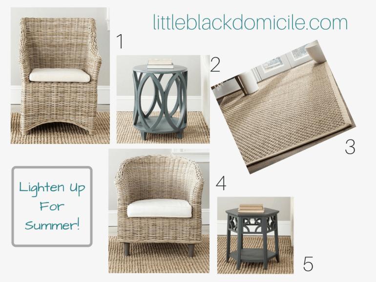 little-black-domicile-lighten-up-for-summer-rattan-furniture-natural-rugs-painted-tables