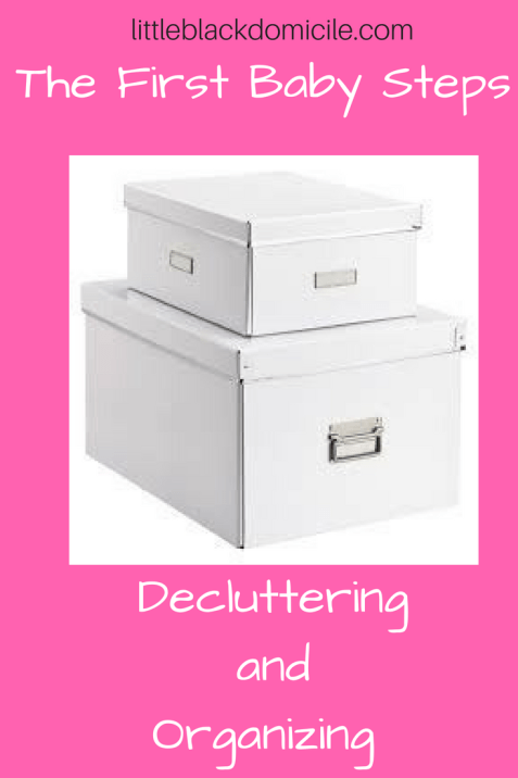 Decluttering - Organizing - Littleblackdomicile