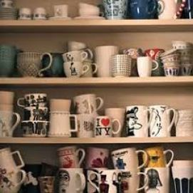 Cabinet-Coffee Mugs-Clutter
