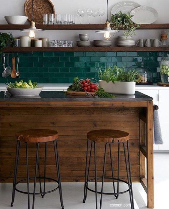cocoon.com-kitchen-green-wall-tile-splash