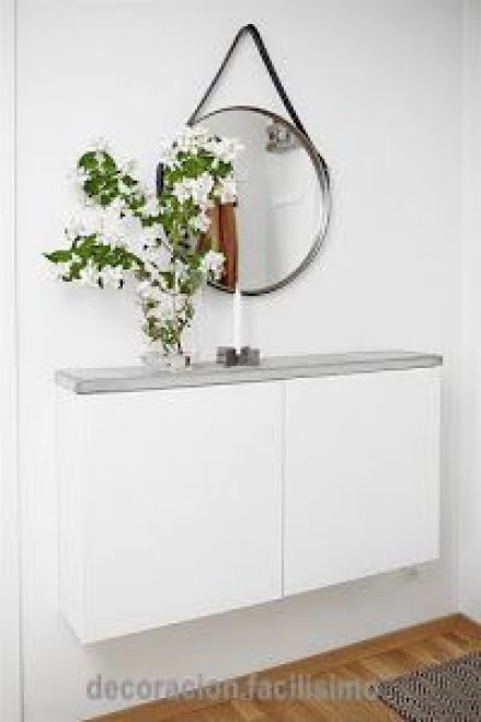 decoration.facllisimo-narrow-foyer-wall-cabinet-concrete-counter-top