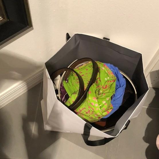 littleblackdomicile-organized-closet-goodwill-bag-donatiing-clothes