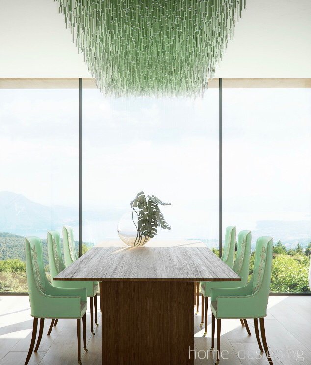 home-designing-mint-dining-room-chairs-green-glass-chandelier