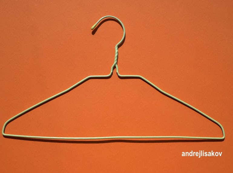 andrejlisakov-orange-wire-hanger