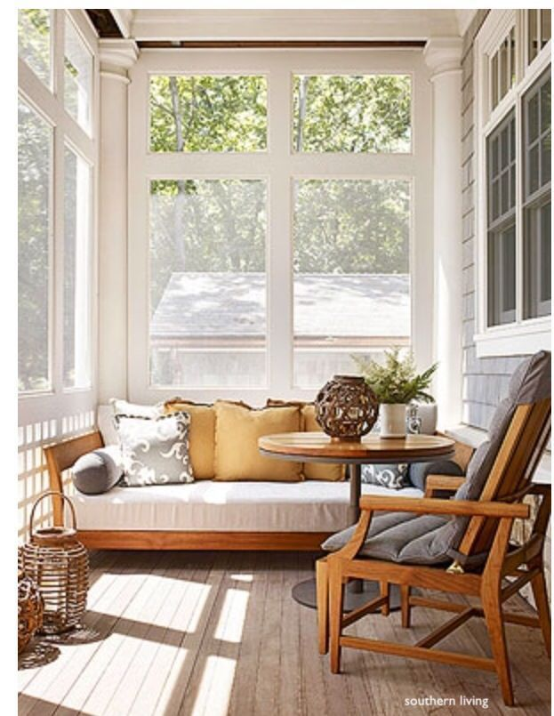 southern-living-screened-porch-teak-patio-furniture-daybed