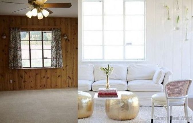 sarah'srealworld-painted-wood-paneling-makeover