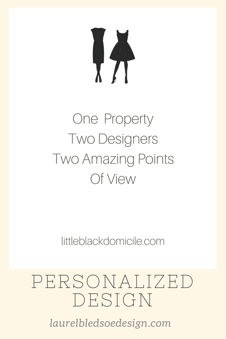 One House, Two Interior Designers