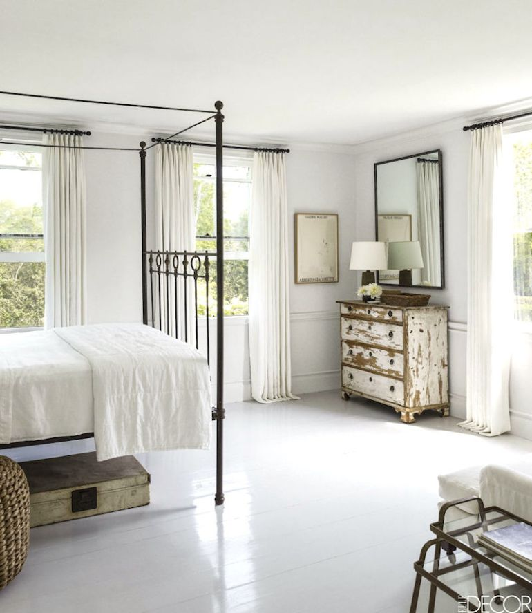 elle-décor-painted-bedroom-floor