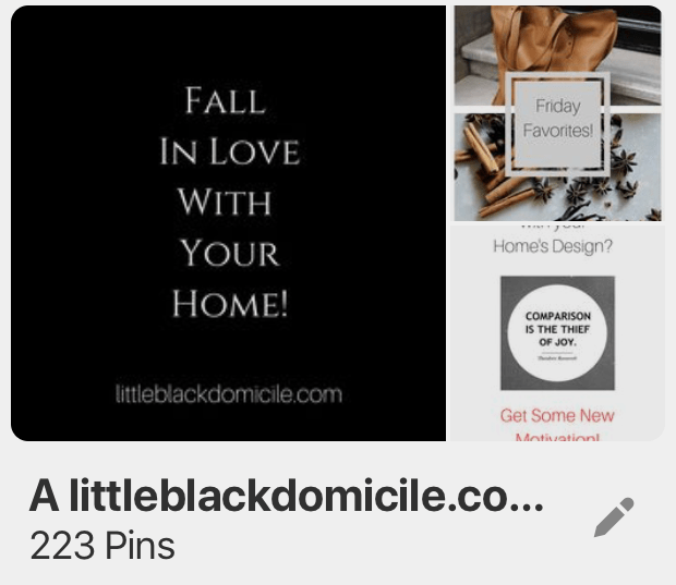 little-black-domicile-pinterest