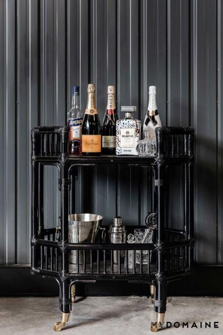 mydomaine-black-rattan-bar-cart