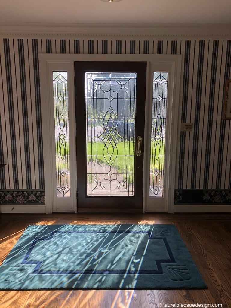 laurelbledsoedesign-design-to-sell-foyer-leaded-glass-door