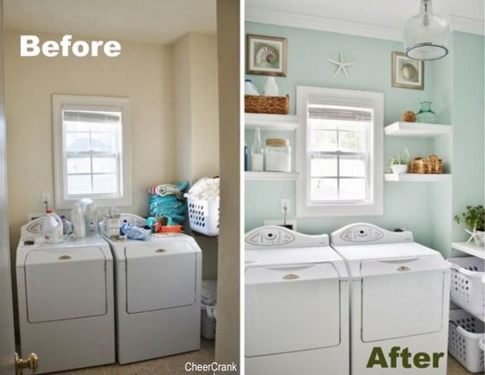 cheer crank-laundryroom-before-after