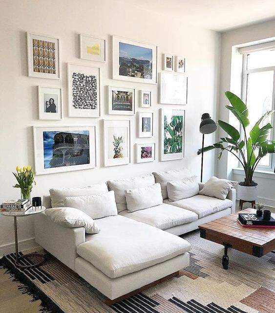 west elm-white-frames-mixed-art-gallery-wall