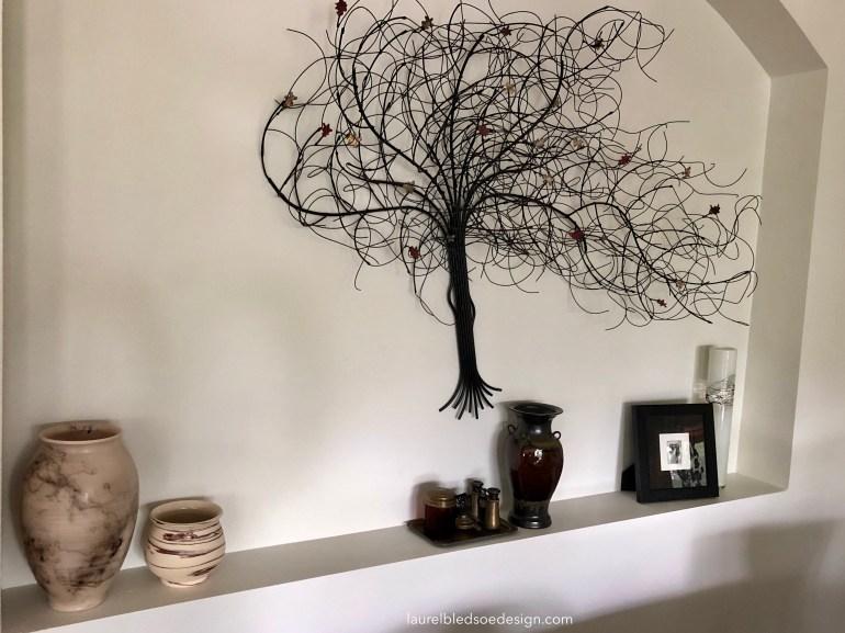 laurelbledsoedesign.com-horsehair pottery- wire tree-art