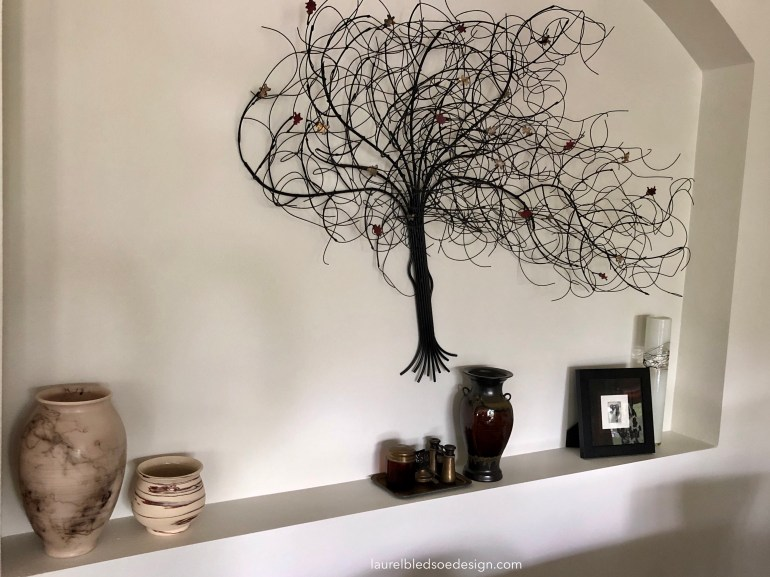 laurelbledsoedesign.com-horsehair pottery- wire tree-art