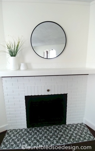 ©laurelbledsoedesign.com-fireplace-styling-white-painted-brick-cement-tile