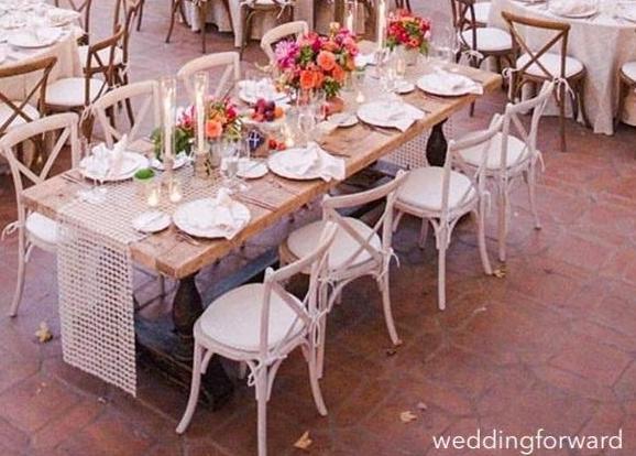 weddingforward-white-alfresco-dining-table