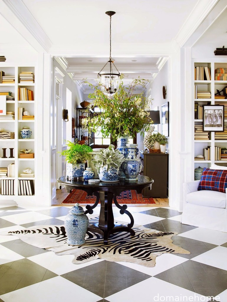domainehome-entry-checked-floor-builtin-bookcases