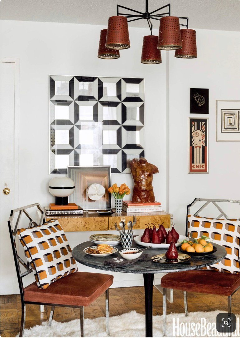 nicholasobeid-dining-room-newyork-small-apartment-geometric-prints