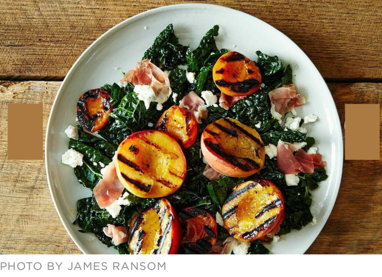 Food52-jamesransom-grilled-peach-salad-hot-summer-salads
