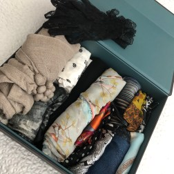 Easy View Scarf Storage