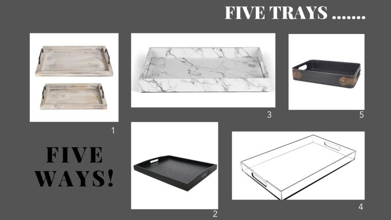 littleblackdomicile-five trays five ways
