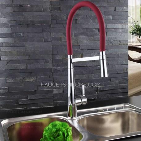 faucetsinhome-kitchen-faucet-burgundy-sprayer