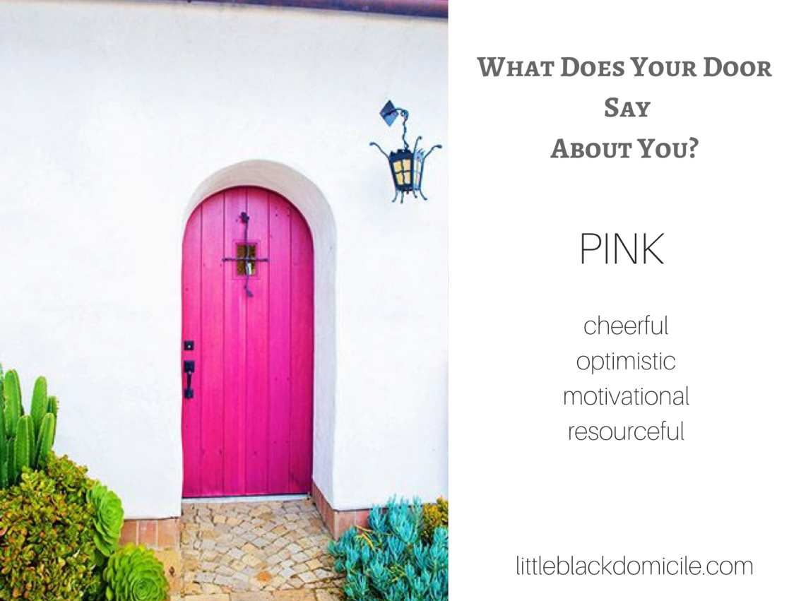 front-door-color-pink