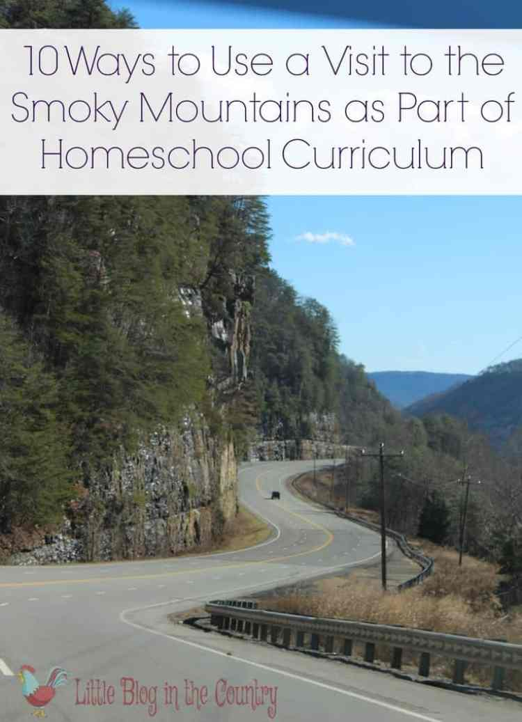 10 Tips to Incorporate the Smokies into Your Homeschool Curriculum