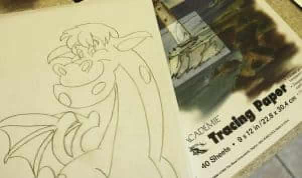 petes dragon trace