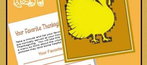Thanksgiving Unit Study