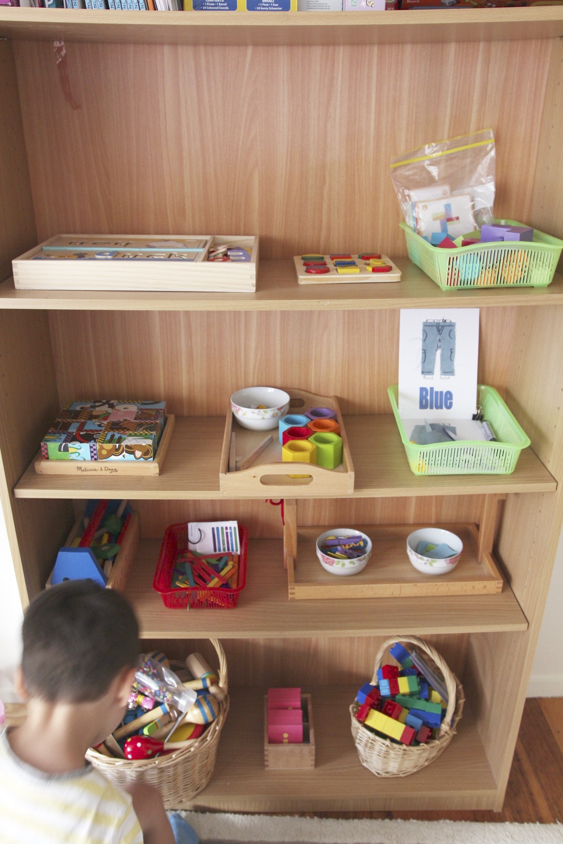 Our Montessori Inspired Activity Shelf 3 5 Year Old