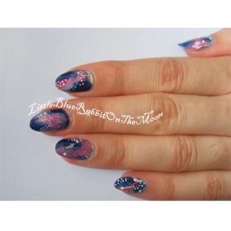Galaxy Nail Art-1