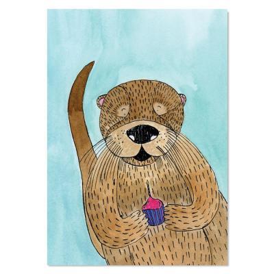 EM Art Print - Olive the Otter