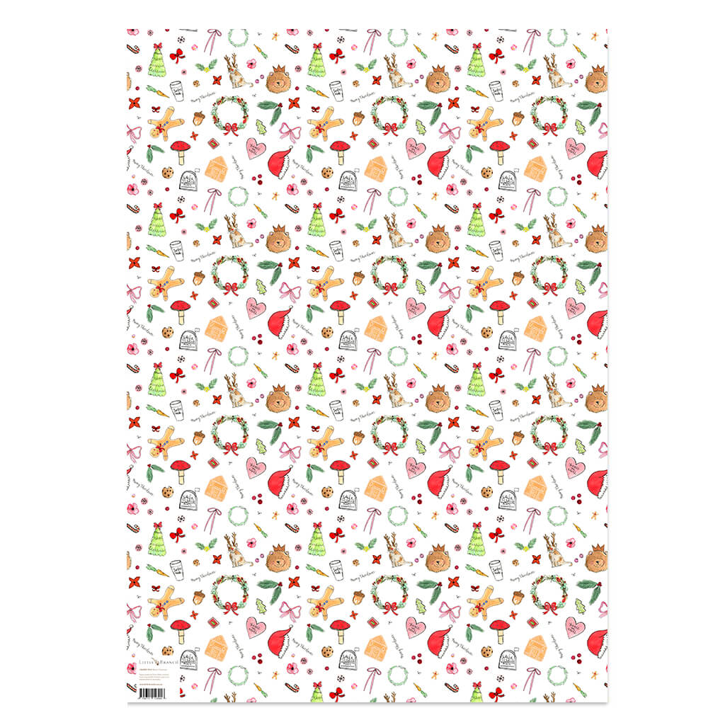 EMF Merry Christmas Wrapping Paper