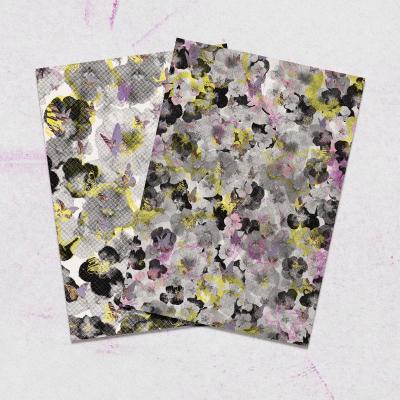 CT Pansies & Papillons Wrap Set
