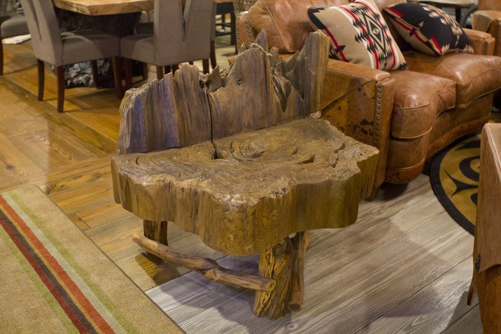 Coffee Table Made from Cypress | Littlebranch Farm