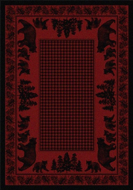 Bear Family | Southwestern Rugs by American Dakota