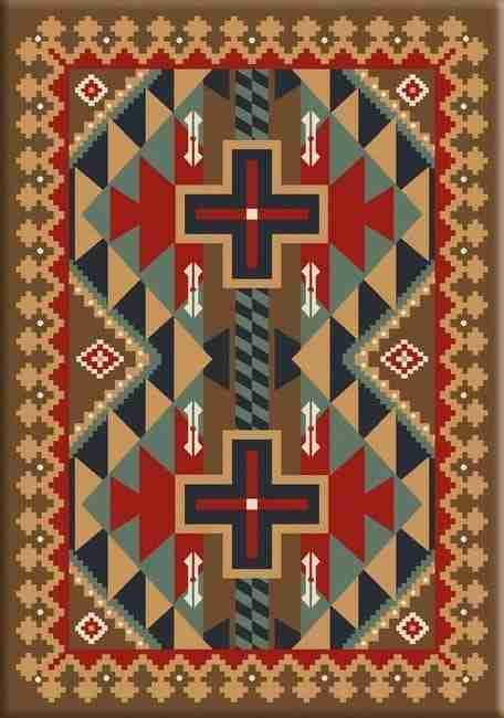 Tribesman Kilim   Southwestern rugs by American Dakota