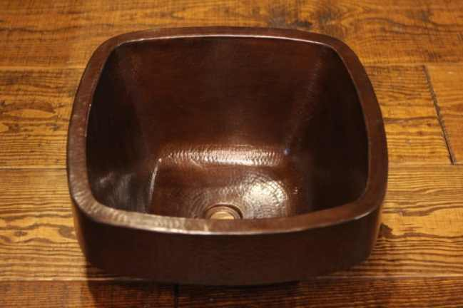 Square Copper Sink with Apron | Littlebranch Farm