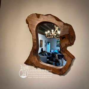 Natural wood home decor