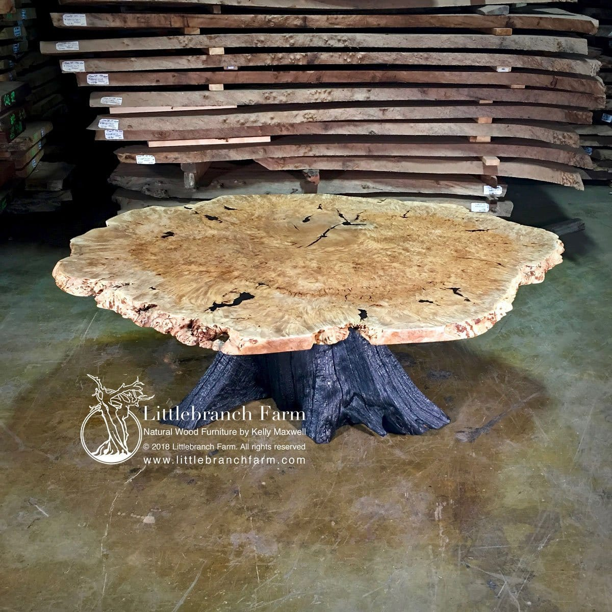 live edge table how to build and
