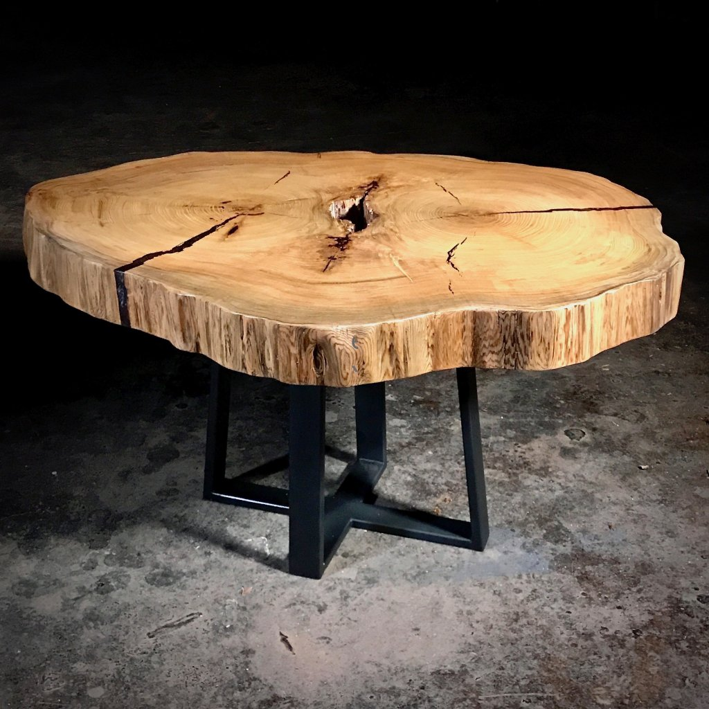 cypress wood table