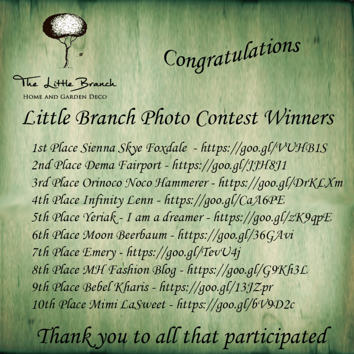 LB Contest Winners August 18 Contest